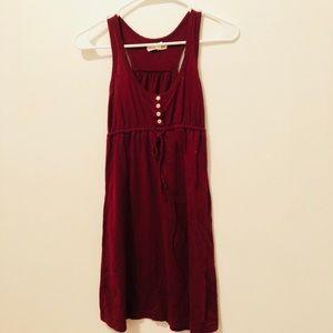 Aeropostale XS red mini dress sleeveless